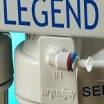 مراحل تصفیه دستگاه تصفیه آب خانگی آکواجوی مدل لجند