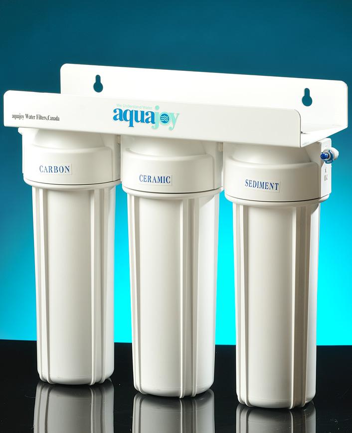 تصفیه آب خانگی سه مرحله ای آکواجوی