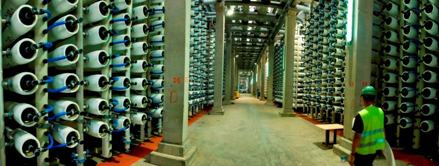 دستگاه تصفیه آب خانگی صنعتی نیمه صنعتی